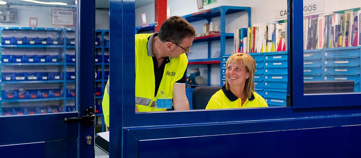 Insite: una oficina de Rubix en sus instalaciones